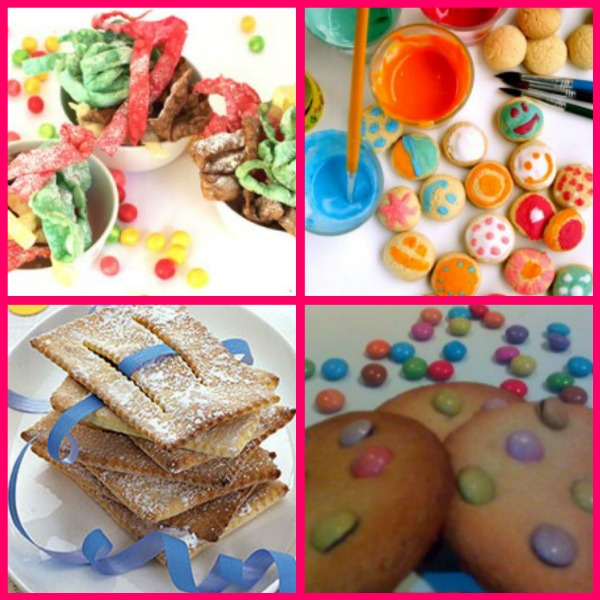 collage dolci