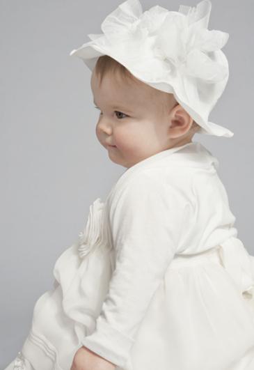 Vestito battesimo bimba invernale