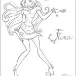 winx-disegni-da-colorare-flora