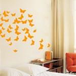 cameretta-bambini-adesivi-farfalle