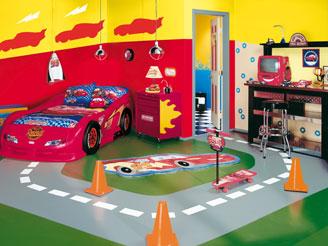 Cameretta bimbi cars - Dipingere cameretta bambino ...