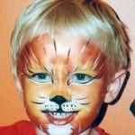 carnevale-trucco-faccia-leone