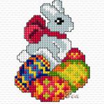 punto-croce-pasqua-coniglietto