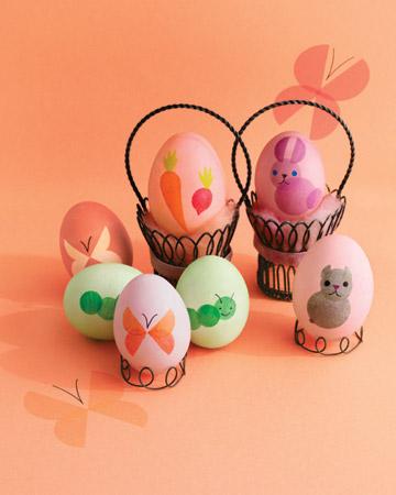 Pasqua uova decorate animali - Pasqua uova decorate ...