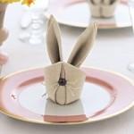 tavola-pasqua-piegare-tovaglioli-bunny