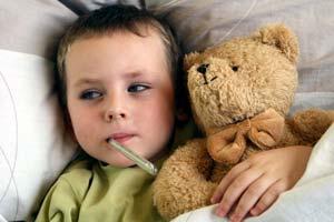 bambino-influenza