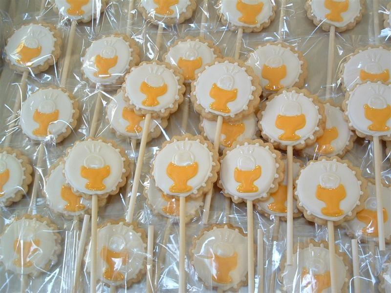 abbastanza Bomboniere prima comunione: biscotti decorati - Blogmamma.it  GV39