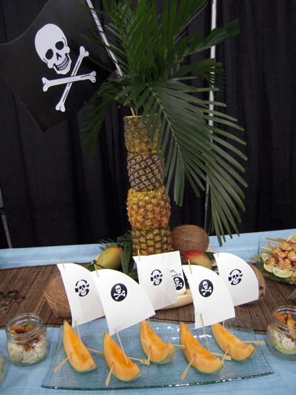 feste-compleanno-buffet-pirati-melone