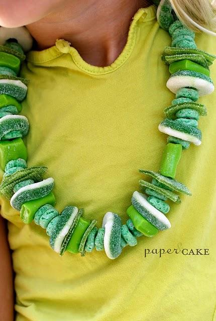 feste-compleanno-collane-caramelle-verdi