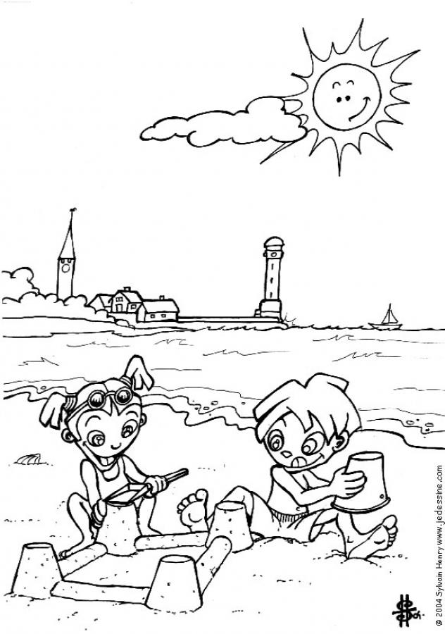 vacanze-bambini-disegni-da-colorare-bambini-giocano-sabbia