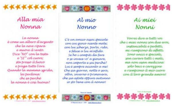 Festa Dei Nonni Blogmamma It