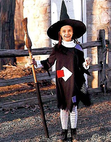 Costumi di Halloween fai da te  la strega - Blogmamma.it 3c65099f7bce