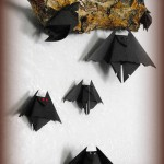 halloween-decorazioni-pipistrello-origami