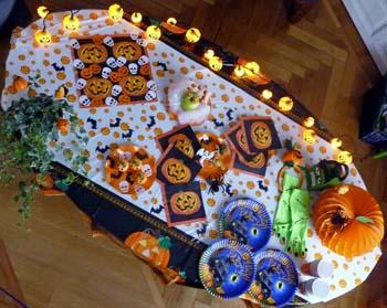 Halloween decorazioni tavola - Decorazioni fai da te per halloween ...