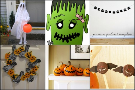 collage di idee per halloween