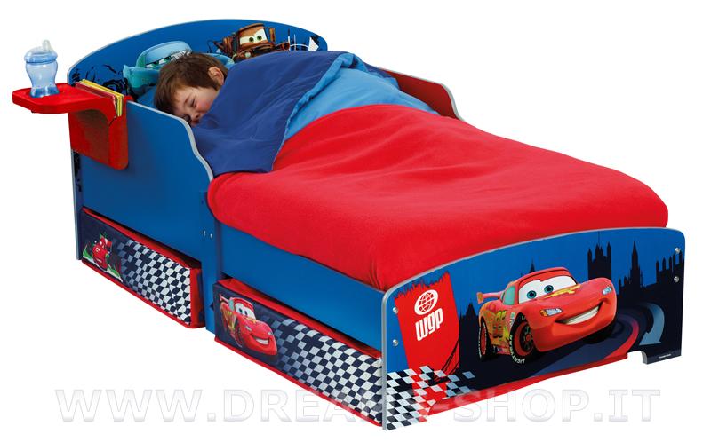 Arredare la cameretta dei bambini il letto di cars - Letto bimbo con sponde ...