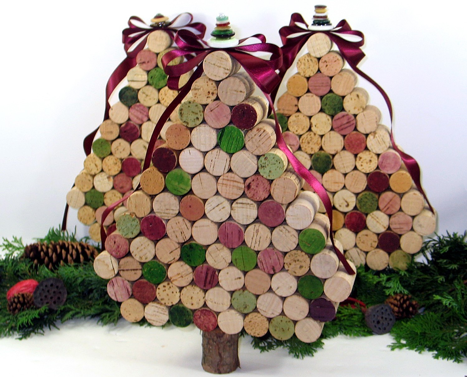 Natale addobbi fai da te riciclando for Lavori fai da te in casa