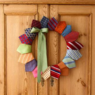 natale-addobbi-riciclo-cravatte