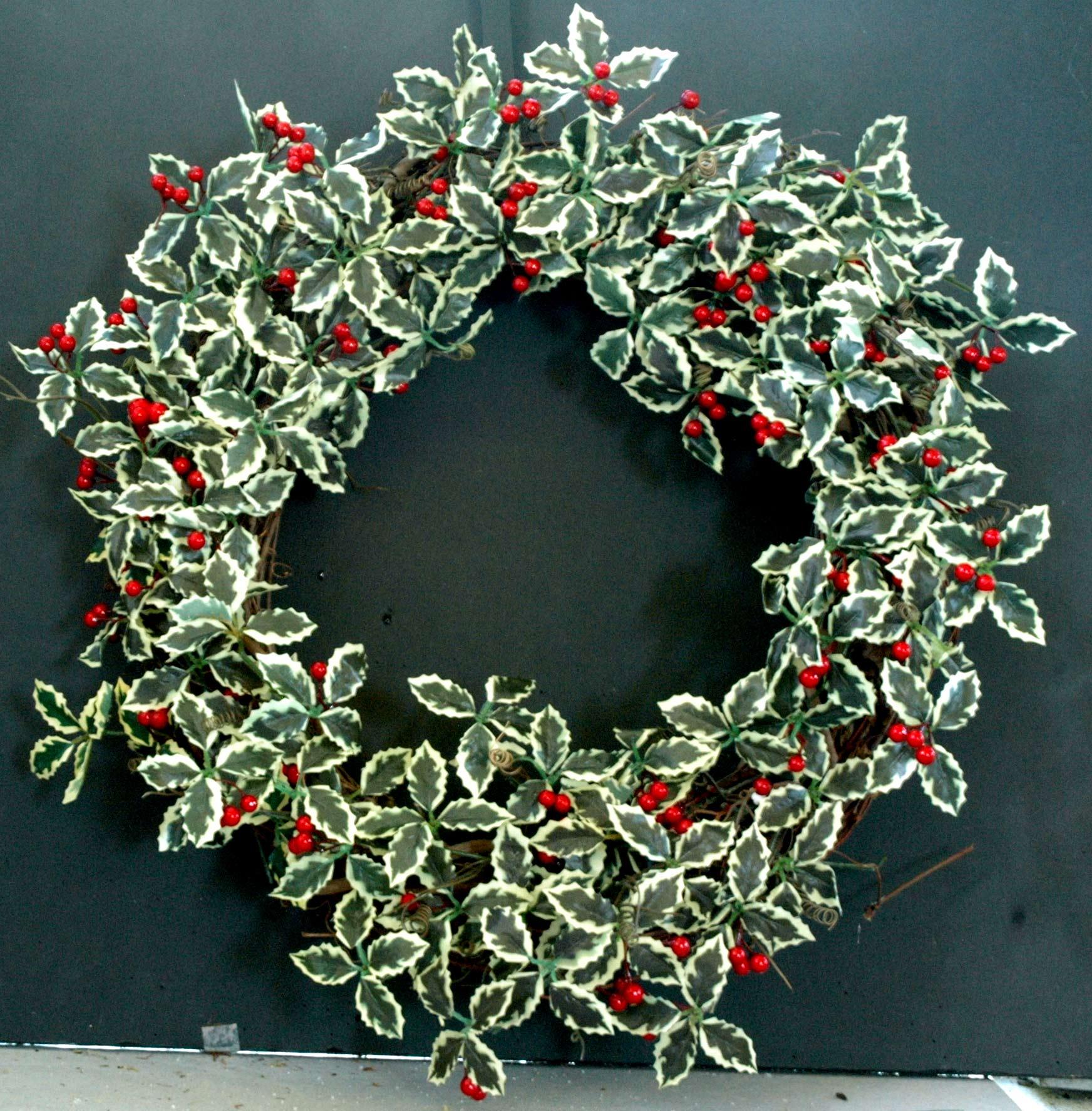 Addobbi natalizi per la casa le ghirlande - Addobbi natalizi per la porta ...