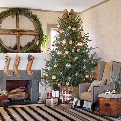 albero-natale-decorazioni-rustico