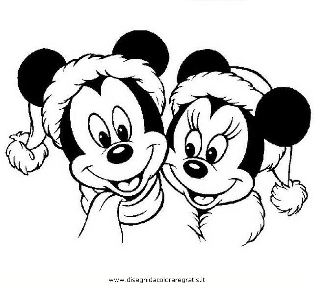 Natale disney for Disegni da stampare gratis disney