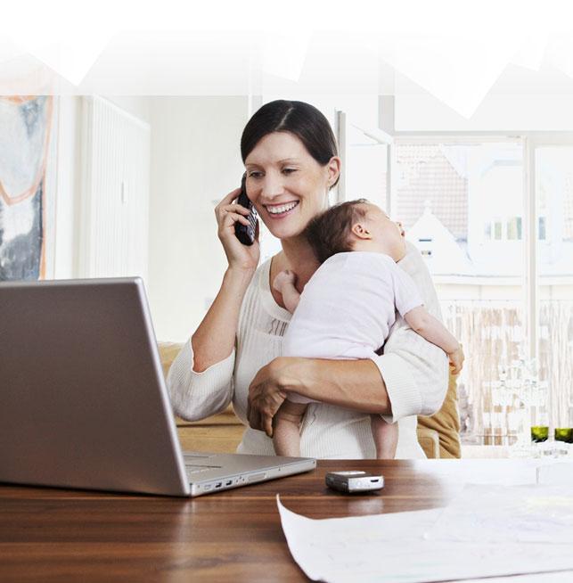mamma e lavoro