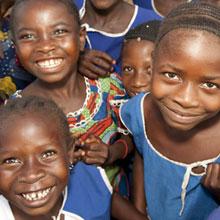 bambini action aid