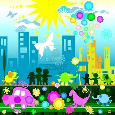 i bambini e l'ecologia