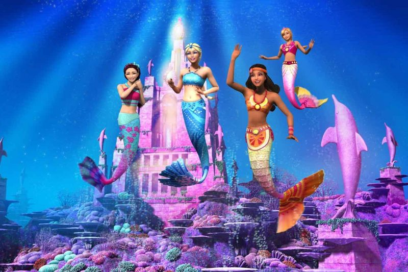 barbie avventura nell'oceano