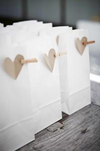 bomboniere sacchetto bianco