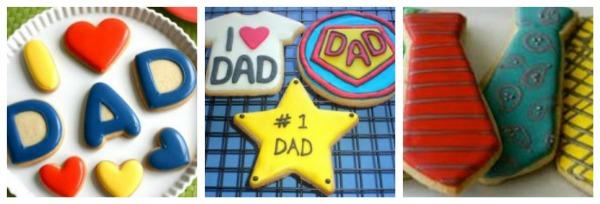 cookies per il papà