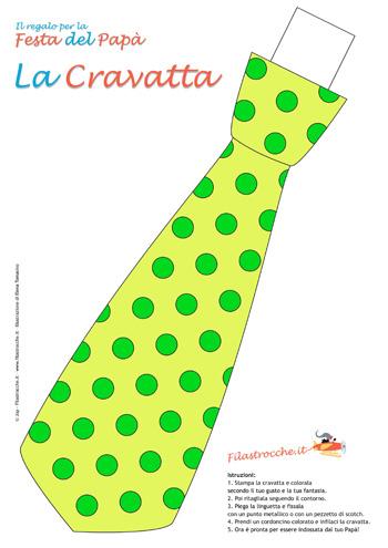 decorazioni-festa-cravatta_colorata_pois_