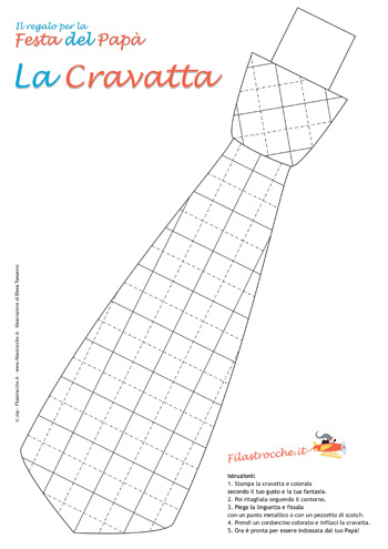 Decorazioni Per La Festa Del Papà Con Le Cravatte Blogmammait