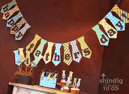 decorazioni-festa-papa-ghirlanda