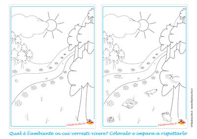coloriamo l'ambiente in cui vogliamo vivere