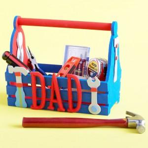 festa papà cassetta attrezzi