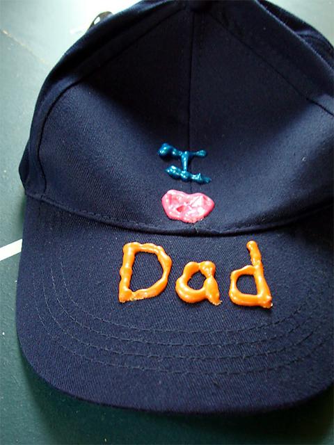 festa del papà regali cappellino
