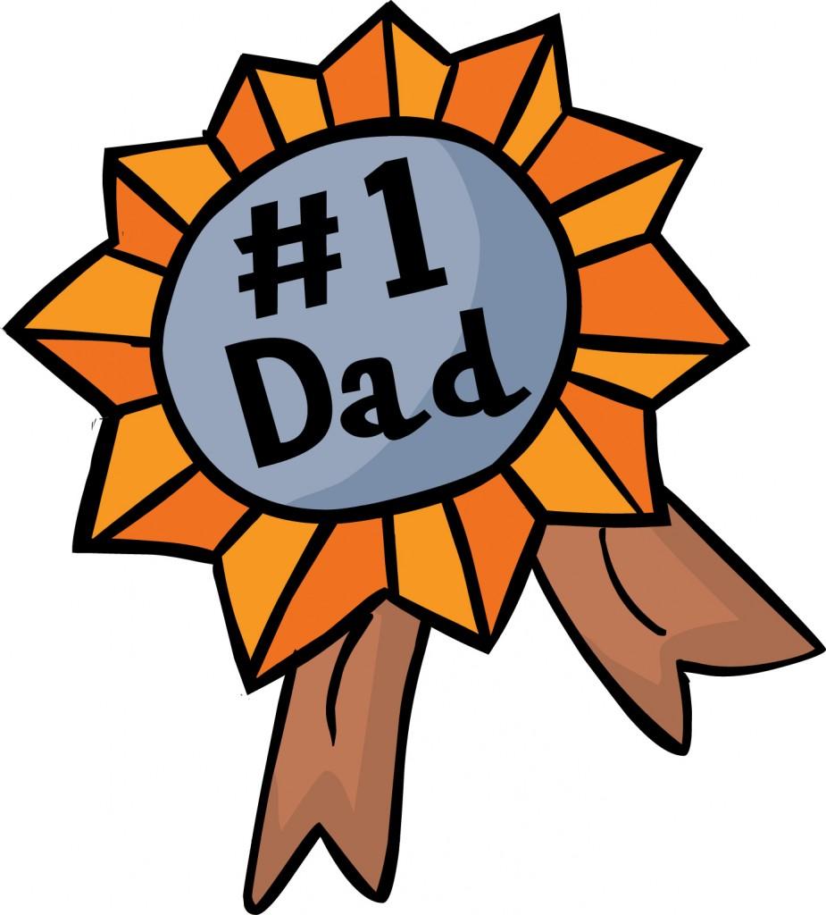 coccarda miglior papà
