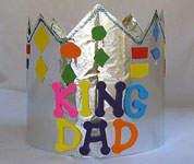 corona per il papà