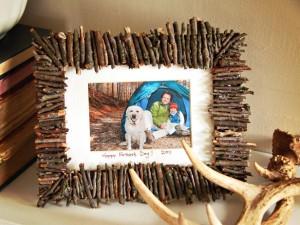 cornice con i legnetti