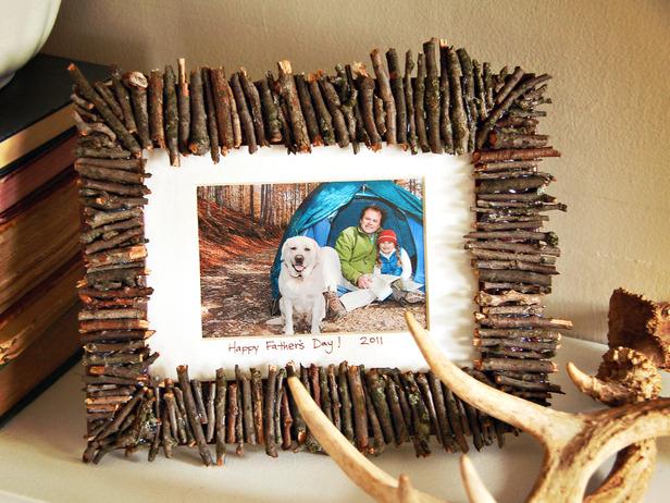 lavoretti-papa-cornice-legni