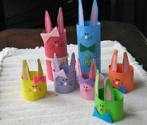 lavoretto pasqua conigli