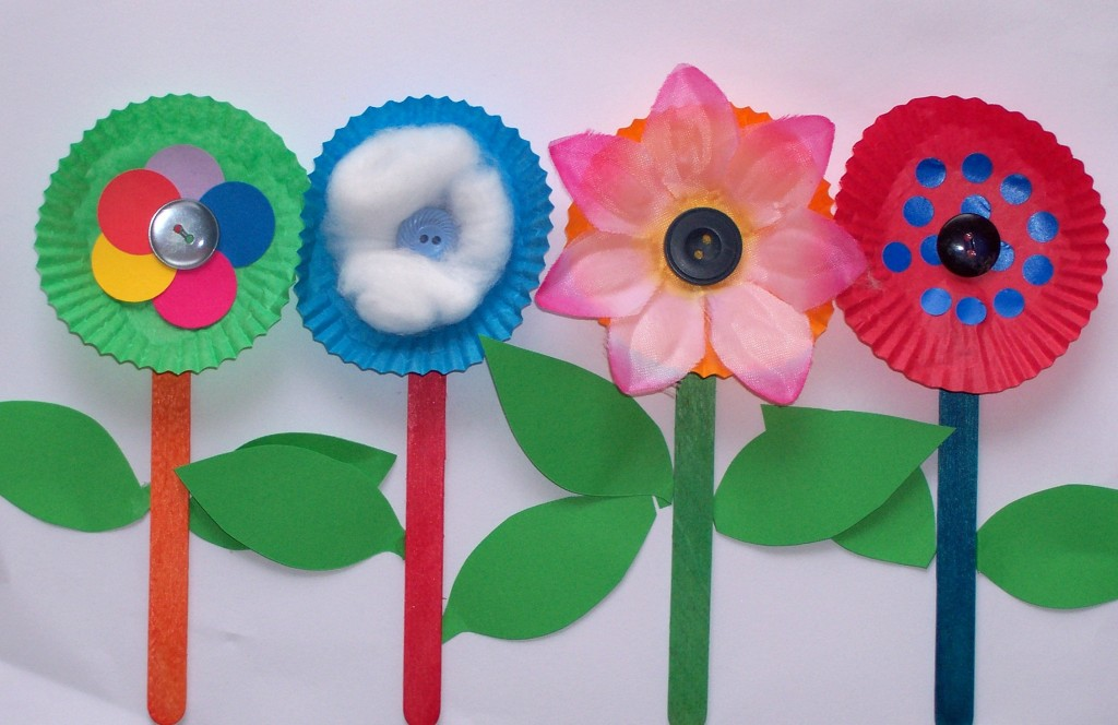 Spring Flower Craft Ideas for Kids