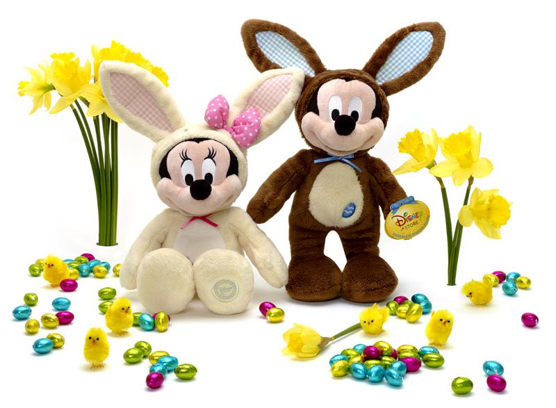 regali per Pasqua, topolino e minnie
