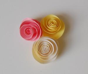 roselline di carta