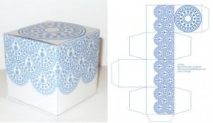 schema cubo decorato