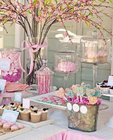 buffet dei dolci per una cerimonia