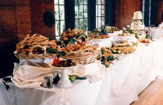 buffet per cerimonie