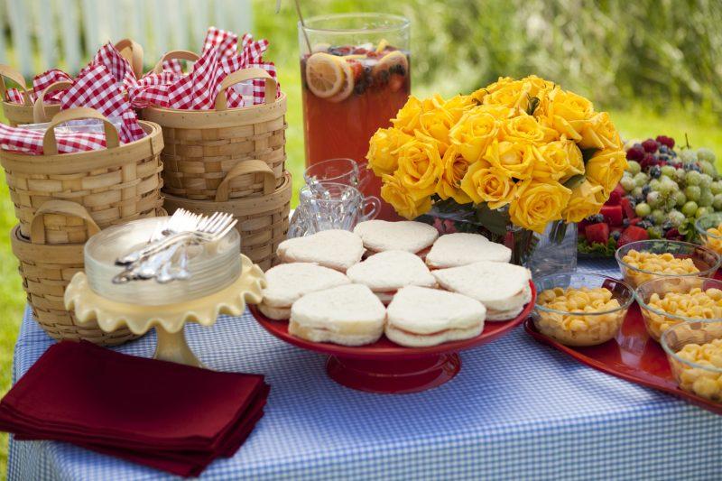 buffet per prima comunione