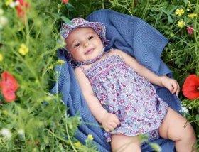 come vestire neonato in primavera